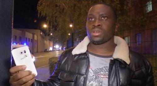 巴黎恐袭中一男子靠手机抵挡子弹幸免于难(图)