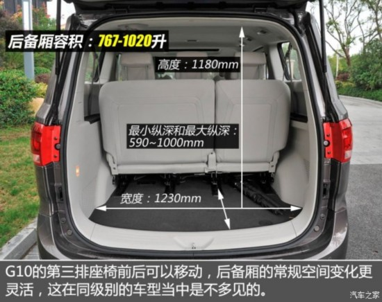 上汽商用车 上汽大通G10 2014款 2.0T 自动时尚版