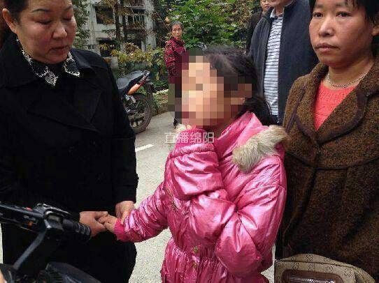 四川11岁女孩疑被养父母虐待全身多处刀疤(图)