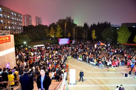 合肥高校5000大学生集体相亲寻找真爱