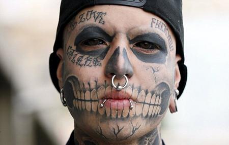 澳大利亚眼球纹身流行 盘点眼睛的奇葩时尚(组图)