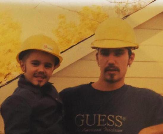 比伯與父親