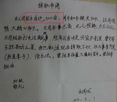 记者辞职信走红 除了