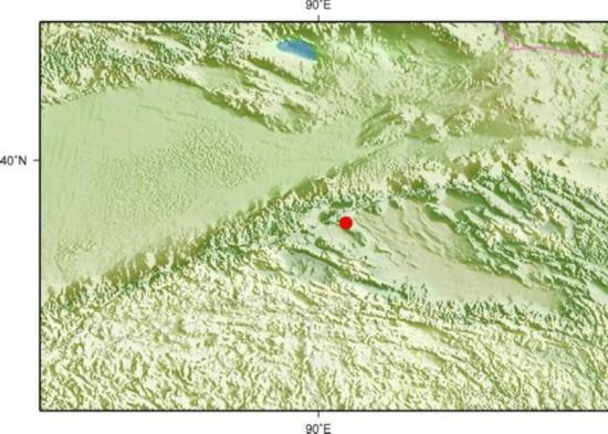 青海省海西州茫崖行政委员会发生3.4级地震