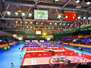 """奥运乒乓球地胶""""红""""变""""绿""""国乒没参加测试赛或留隐患?"""