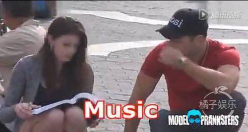 小哥街头搭讪一开始是被拒绝的 后来duang一下美女主动献吻