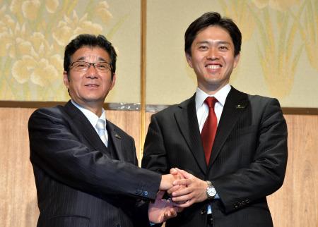 维新会获胜的两名候选人。