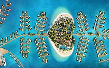 迪拜将造最奢华人工岛 配漂浮豪宅