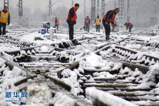黄淮雨雪天气持续