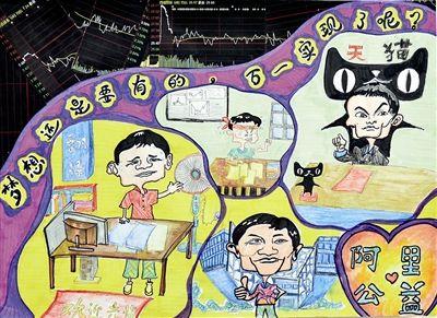 童画,好家风好家训_家风家训 孩子们在画纸上呈现出来了     今年5月开始启动的童画杭州