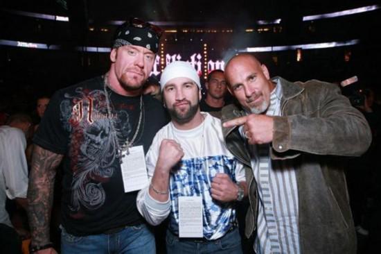 岁月不饶人 WWE送葬者真的老了 依旧帅气图片