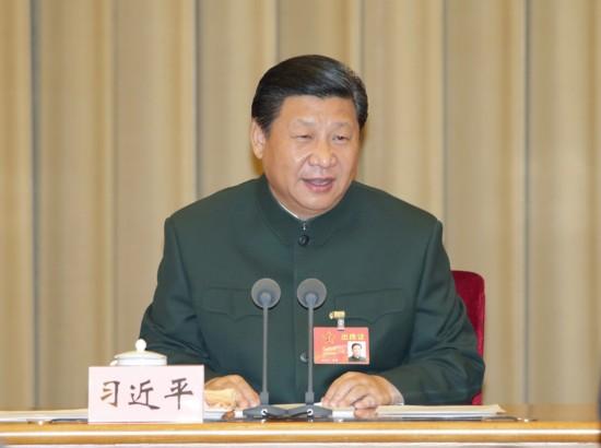 中央军委改革工作会议11月24日至26日在京举行。中共中央总书记、国家主席、中央军委主席、中央军委深化国防和军队改革领导小组组长习近平出席会议并发表重要讲话。新华社记者 李刚 摄