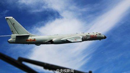 我多型軍機赴遠海訓練 飛出第一島鏈千余公裡(圖)【7】