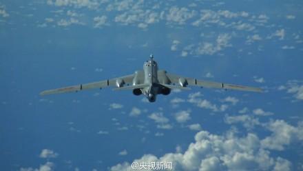 我多型軍機赴遠海訓練 飛出第一島鏈千余公裡(圖)【5】