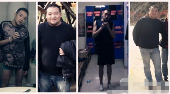 李代沫减肥对比照