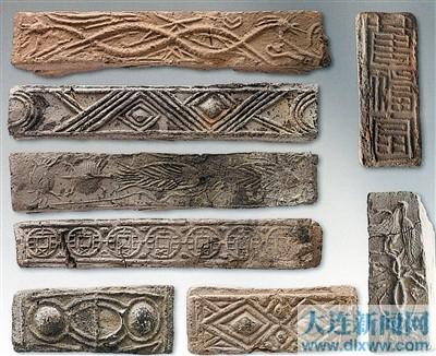 大连花纹砖与徐州画像石诉说的汉代故事