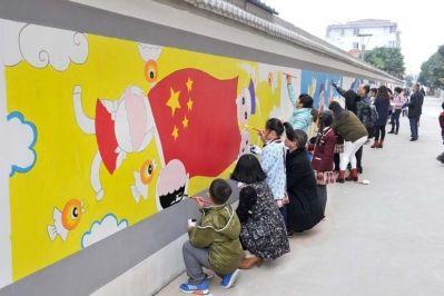 海安中小学生手绘漫画传递核心价值观