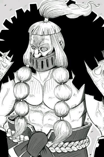 海贼王漫画809话:斧手蒙卡惊现佐乌 四皇大妈酸酸果实的能力