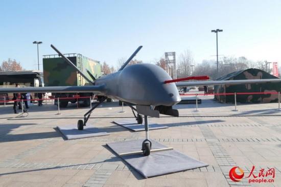 彩虹-4中空長航時無人機最大續航時間40小時,載重超過330公斤圖片