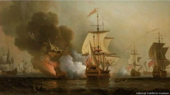 西班牙沉船20亿美元宝藏 历史中水下遗产最大的发现