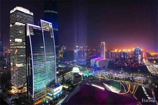 福布斯发布2015中国大陆最佳商业城市:广州居首