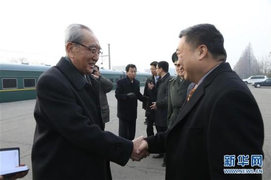 (XHDW)(5)朝鲜功勋国家合唱团和牡丹峰乐团启程访华
