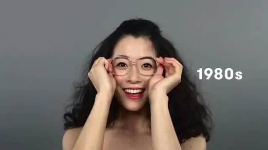 一百年来中国美女怎么演变:1910年代刘海分开