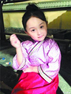 """""""小芈月""""刘楚恬已经是小有名气的童星。"""