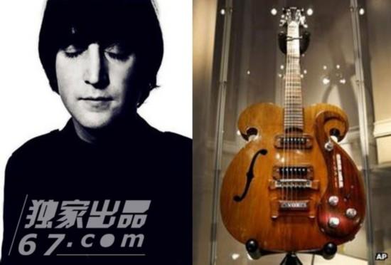 约翰-列侬失踪50年吉他拍出241万美元