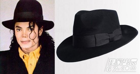 迈克尔-杰克逊赠人的标志性黑毡帽被拍卖