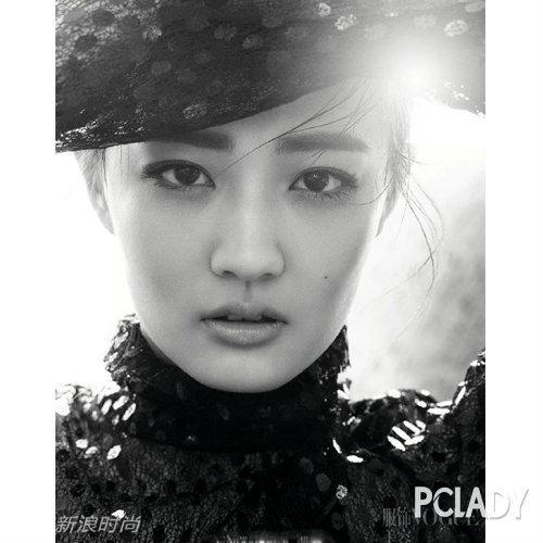 女明星封面照美丑立现:刘亦菲魅