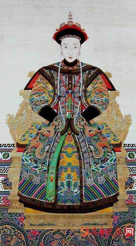 最全清朝23位皇后画像:董鄂氏是顺治最宠爱的女人(图)图片