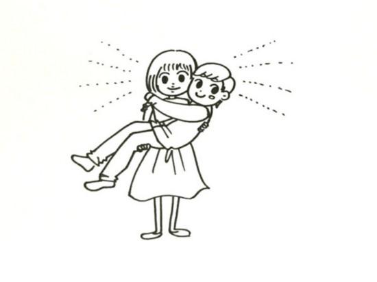 致爱情 简笔画预告 一分钟讲解啥叫好日子