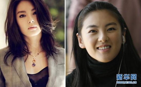 组图 揭秘走红女星当年模样女星 17岁照片大PK