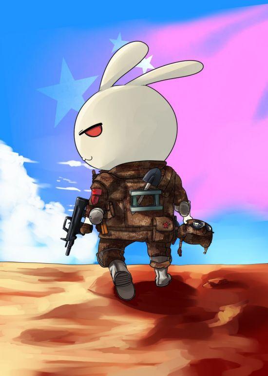 最受欢迎的国产军事题材动漫:那年那兔那些事儿