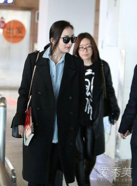 刘亦菲林允儿 中韩女星最新街拍+活动装 杨幂机场照