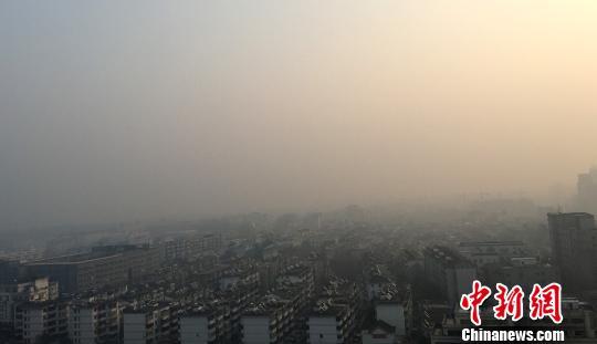 江苏发布大雾橙色预警信号多地空气严重污染