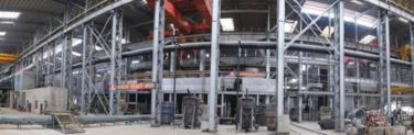玉林龙潭产业园广西玉林中金金属科技炼钢车间.v科技标牌免费图片