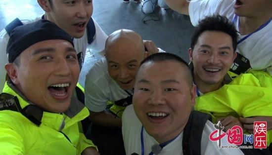 《了不起》六MC上演'缆车惊魂' 齐唱《五环之歌》
