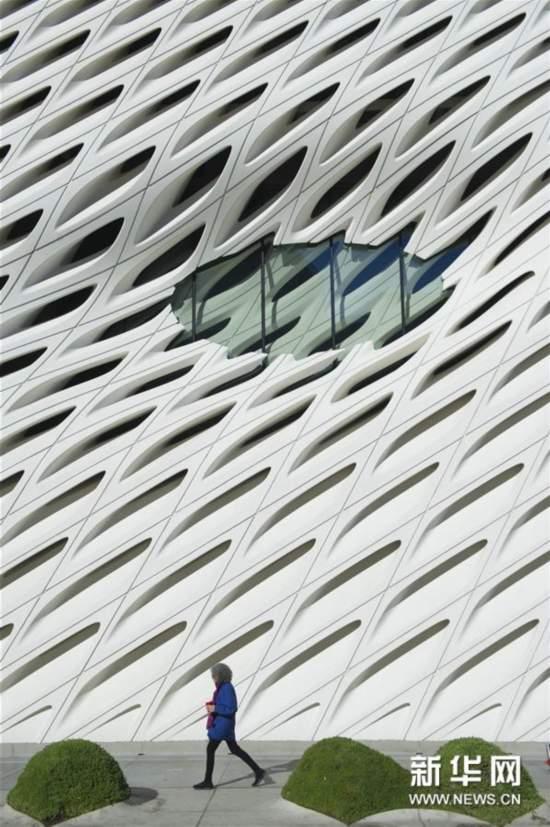 """洛杉矶:""""面纱""""下的艺术博物馆"""