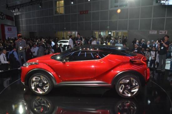 丰田C-HR量产版明年北美车展首发亮相