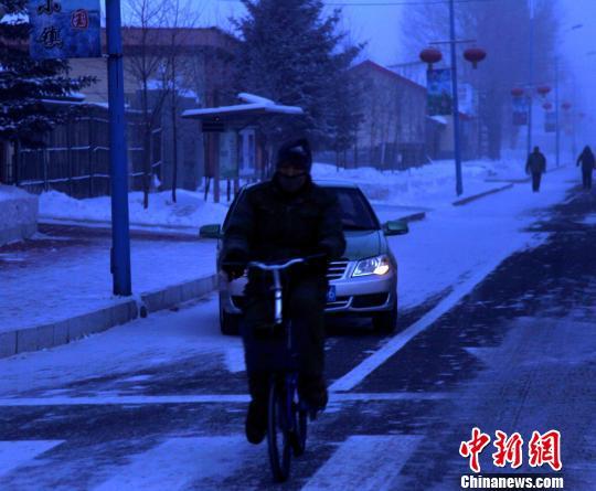 """""""中国最冷小镇""""呼中最低温达零下43摄氏度"""