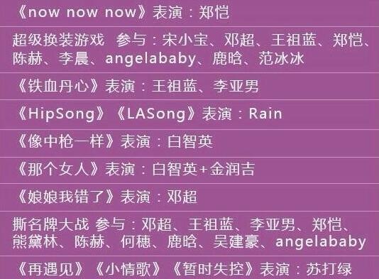 重慶視窗 文娛          浙江衛視跨年節目單     東方衛視跨年節目單圖片