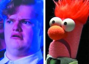 澳大利亚表情上电视质疑v表情小伙遭化身(表情喉咙包心里卡在的图片