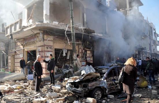 叙利亚新人废墟中拍婚礼照鼓舞人心