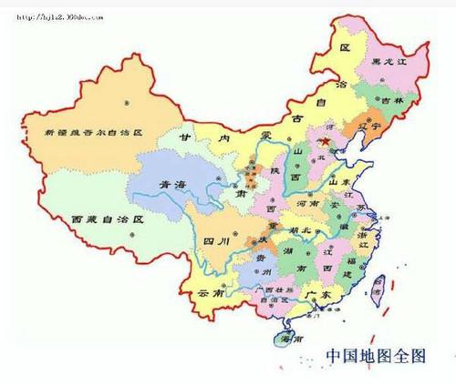 中国城市地图(2 ?10张)