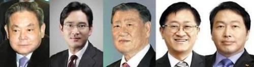 """韩媒:韩富豪榜为""""继承者们""""天下白手起家者少"""