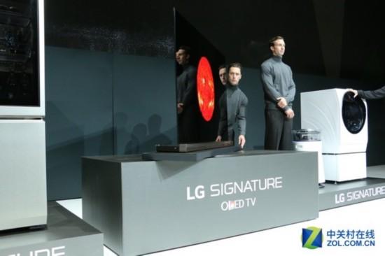 CES首日亮点:LG SIGNATURE OLED解析