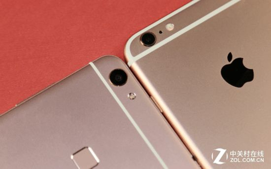 颜值损耗双PK:vivoX6Plus对比iPhone6sPlus安卓7.0电池体验软件图片