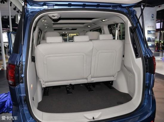 车型三:华晨金杯阁瑞斯2.7L自动旗舰版7座-自主MPV论英雄 风行CM高清图片